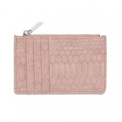 Blush Snake Card Purse - Bags - Estella Bartlett - TAILOR & FORGE