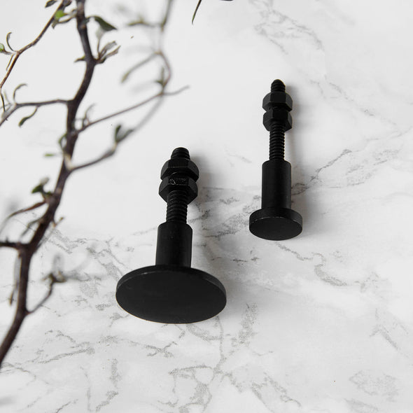 Brass Knob, Black - Decor - Society of Lifestyle - TAILOR & FORGE