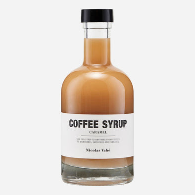 Coffee Syrup - Caramel - Nicolas Vahé - hot drinks - home kitchen - home cooking - gourmet food - gifts for him - coffee syrup - christmas gifts for chef - christmas gifts - Food - Tailor & Forge