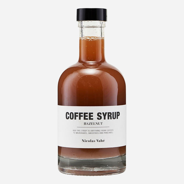 Coffee Syrup - Hazelnut - Nicolas Vahé - hot drinks - home kitchen - home cooking - gourmet food - gifts for him - coffee syrup - christmas gifts for chef - christmas gifts - Food - Tailor & Forge