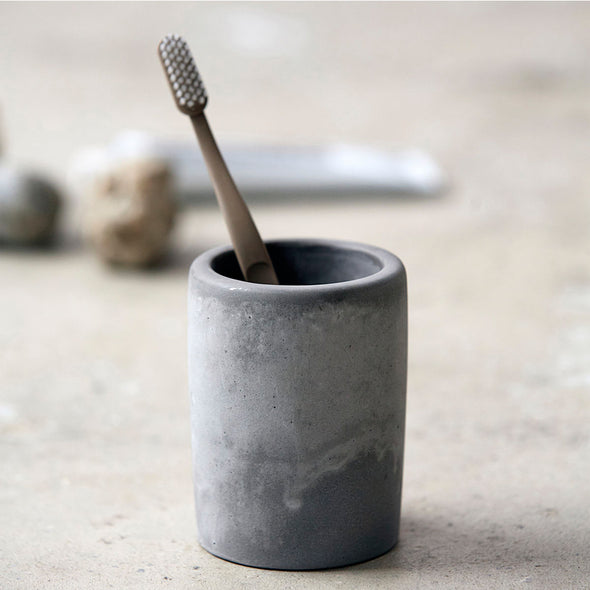 Cement Tumbler - Bathroom Accessories - Society of Lifestyle - TAILOR & FORGE