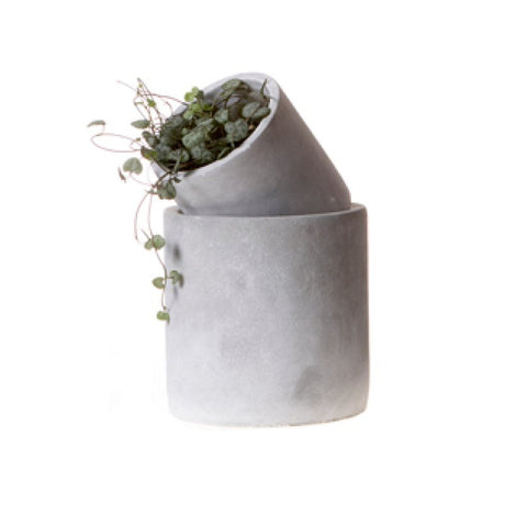 Concrete Pot - Medium - Planters & Vases - Wikholmform - TAILOR & FORGE
