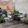 Folding Table - Grey - Folding Garden Table - Outdoor Dining - Outdoor Table - Folding Balcony Table - Table for Balcony - Garden - Furniture - Tailor & Forge