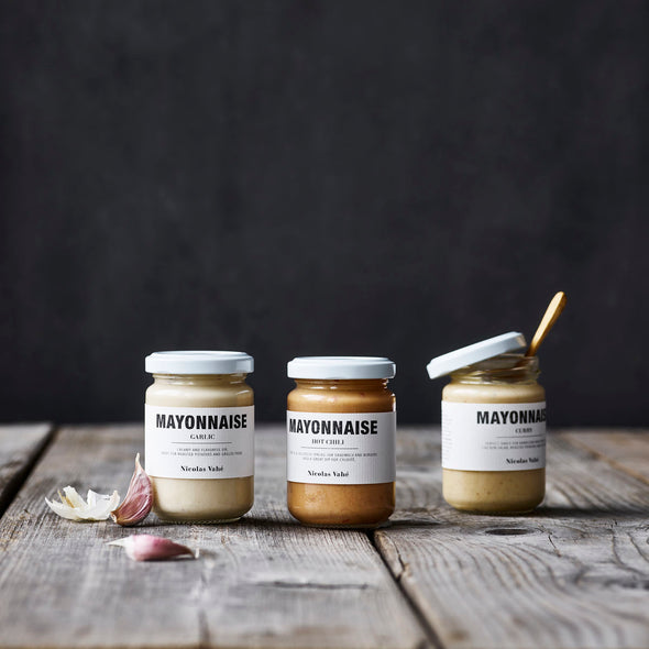Garlic Mayonnaise - Garlic Mayo - Gourmet Food - Food - Nicolas Vahe - Tailor & Forge