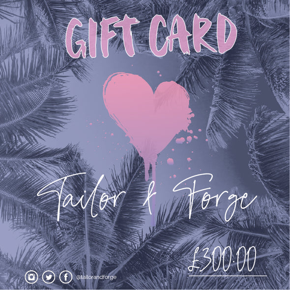 Online Gift Card - Gifts - T&F - TAILOR & FORGE