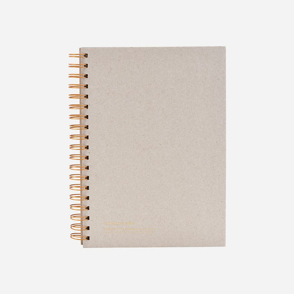 Grey Note Book Large - Note pad - Note book - Office stationary - Home office - working from home - office and stationary - paper goods - Tailor & Forge