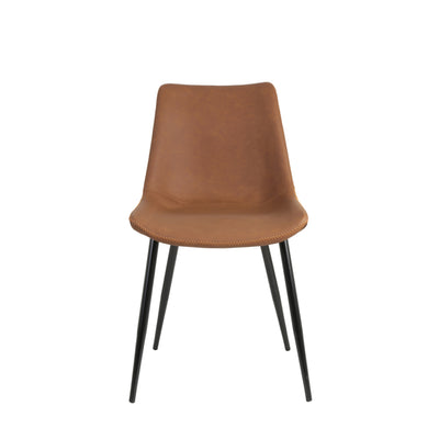 Faux Leather Dining Chair - Dining Chairs - Dining - Chairs - Wipeable Dining Chairs - Modern Dining Furniture - Desk Chair - Comfortable Chairs - Dining Room - Dining - Chairs - Tailor & Forge