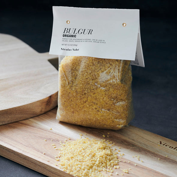 Organic Bulgur - Nicolas Vahe - Cooking Ingredients - Gourmet Food - Home Cooking - Bulgur - Food - Tailor & Forge