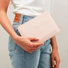 Mission - Medium Pouch - Blush - Bags - Estella Bartlett - TAILOR & FORGE