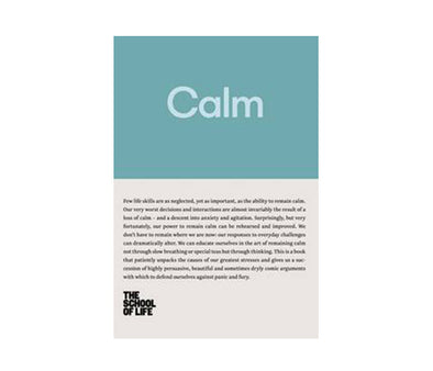 Calm (School of Life) - Books - Bookspeed - TAILOR & FORGE