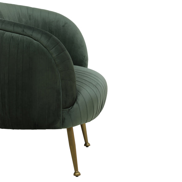 Sahit Velvet Chair - Furniture - Light & Living - TAILOR & FORGE