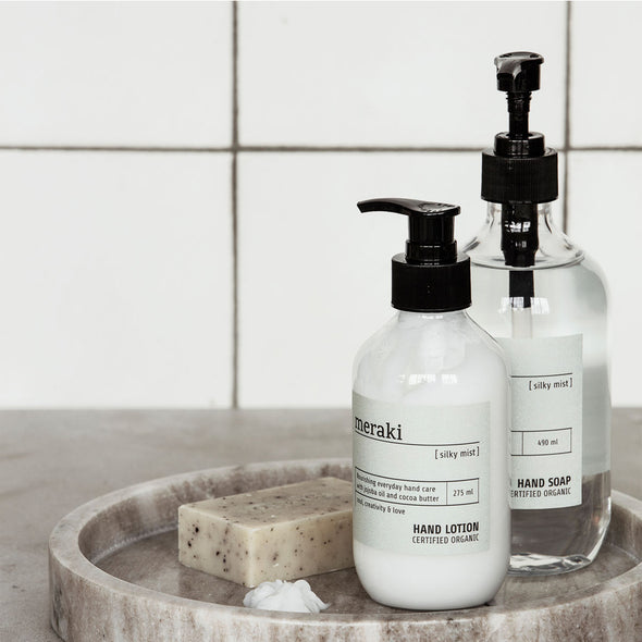 Silky Mist - Organic Hand Lotion - Bath & Body - Society of Lifestyle - TAILOR & FORGE