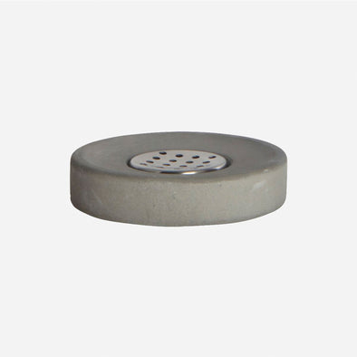 Cement Soap Dish - Bathroom Accessories - Society of Lifestyle - TAILOR & FORGE