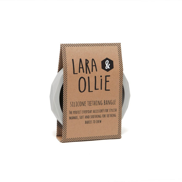 L&O Teething Bangle Stone - Baby & Child - Lara and Ollie Ltd - TAILOR & FORGE