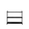 The Meraki Matt Black Cabinet - Furniture - Light & Living - TAILOR & FORGE