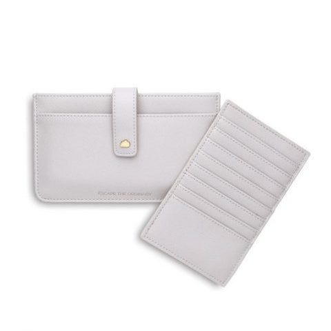 Travel Document Wallet - Grey