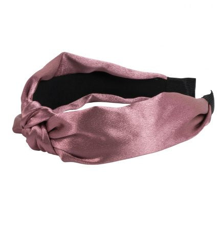 Satin Knot Headband - General Accessories - Big Metal London - TAILOR & FORGE