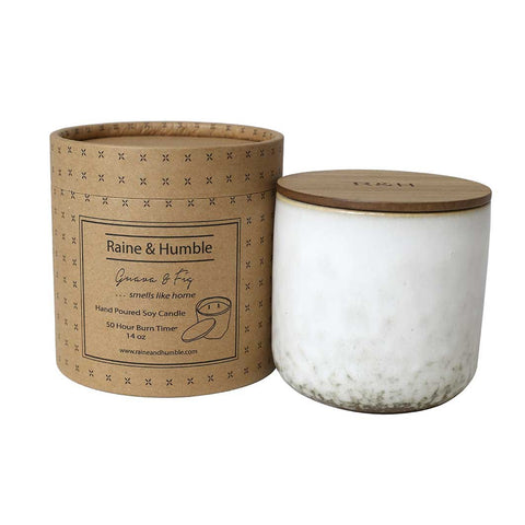 Soy Candle - Fig & Guava - Candles & Accessories - Morgan & Wright - TAILOR & FORGE