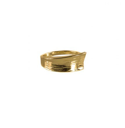 Cone Textured (Gold) Ring - Jewellery - Big Metal London - TAILOR & FORGE