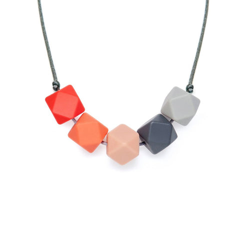 L&O Teething Necklace Edie