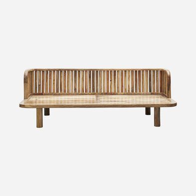 Natural Mango Wood Outdoor Daybed - Furniture - Society of Lifestyle - TAILOR & FORGE