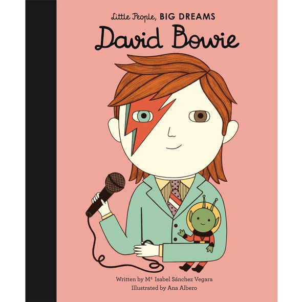 Little People Big Dreams:  David Bowie - Books - Bookspeed - TAILOR & FORGE