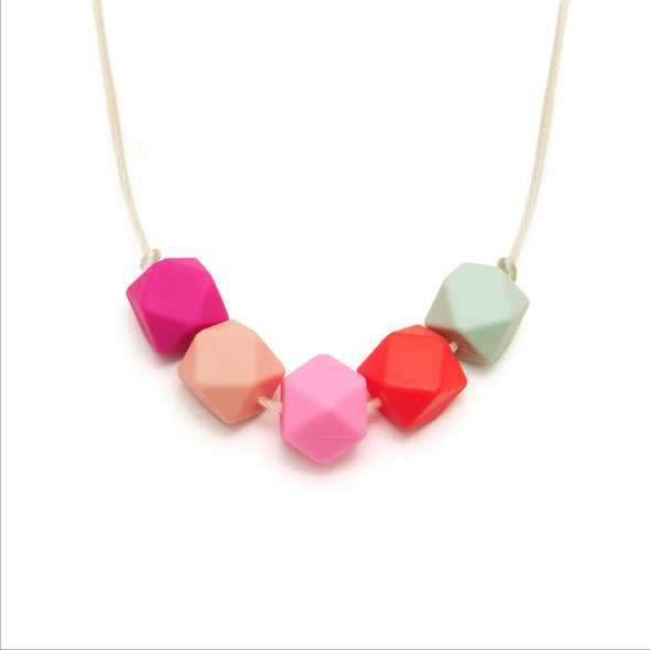 L&O Teething Necklace Flora - Baby & Child - Lara and Ollie Ltd - TAILOR & FORGE