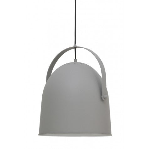 Concrete Hanging Lamp - Grey - Lighting - Light & Living - TAILOR & FORGE