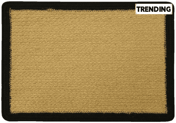 All Natural Jute Placemat - Black