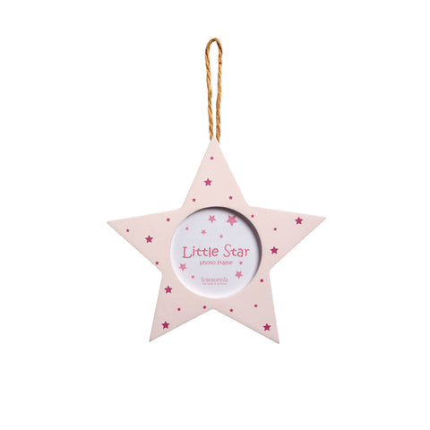 Star shaped baby frame