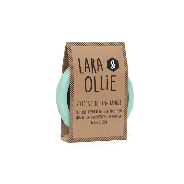 L&O Teething Bangle Mint - Baby & Child - Lara and Ollie Ltd - TAILOR & FORGE