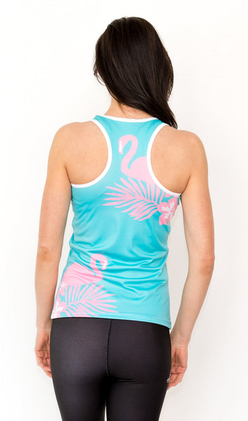 Cape Town Flamingo Tank - KANDASY CLOTHING