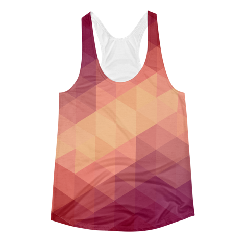 Polygon Gradient Tank - KANDASY CLOTHING