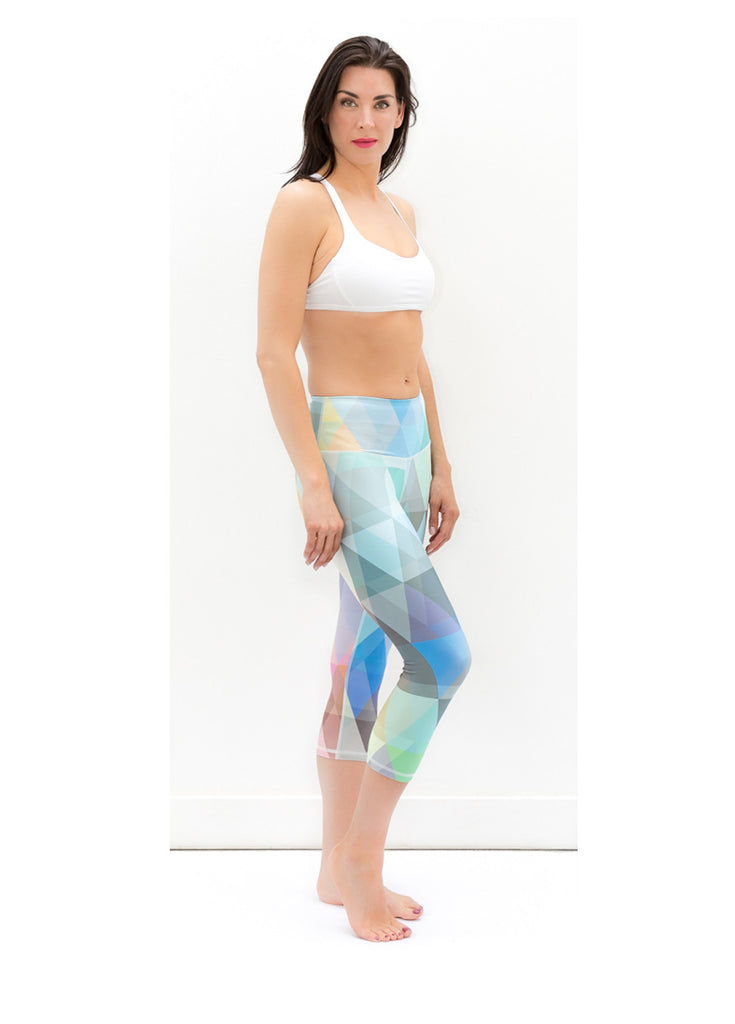 Paris Prism Capris - KANDASY CLOTHING