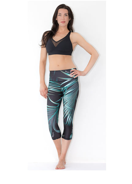 Costa Rican Tropic Capris - KANDASY CLOTHING