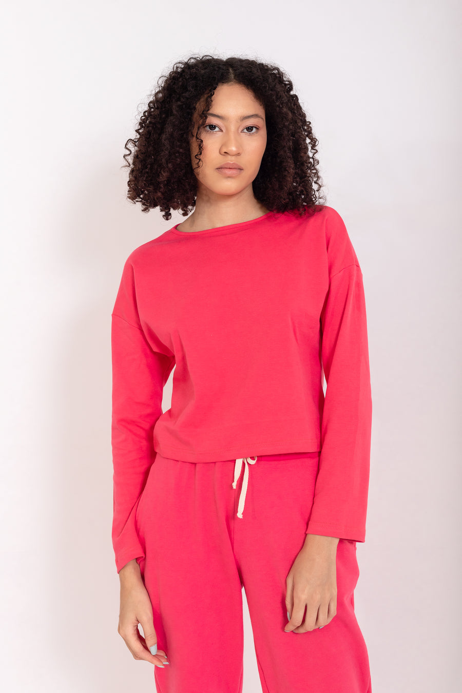 Be Kind - Basic Top Rouge Red