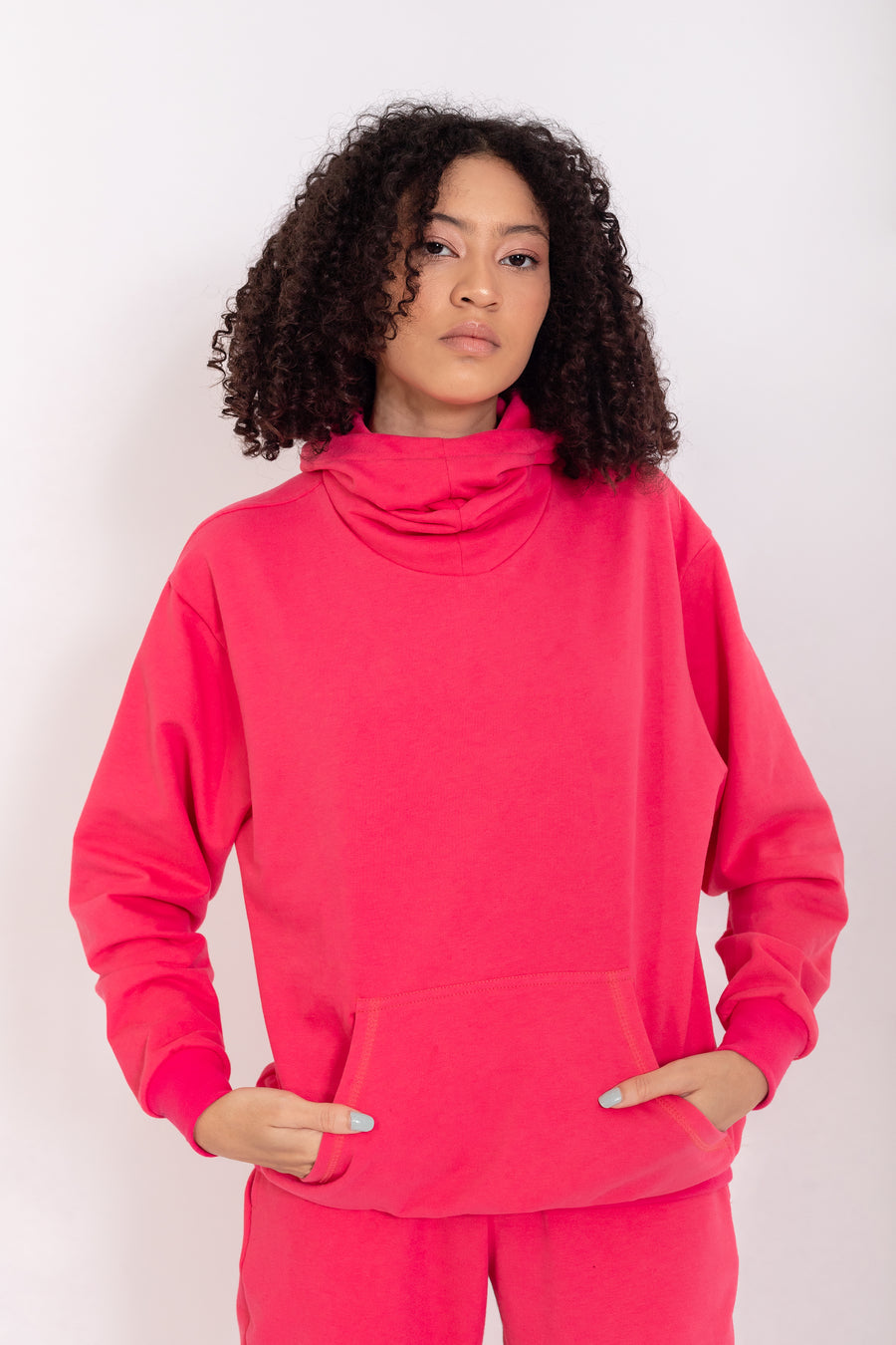 Be Kind - Hoodie Rouge Red