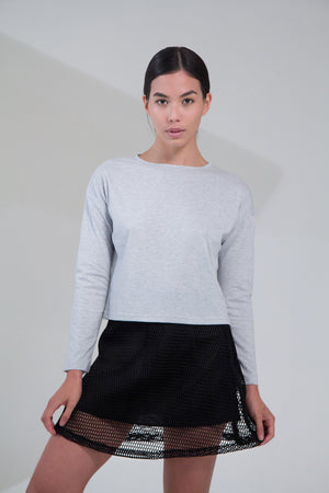 - LAO - Casual Top Gris