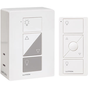 Lutron Caseta Smart Lighting Lamp Dimmer + Installation