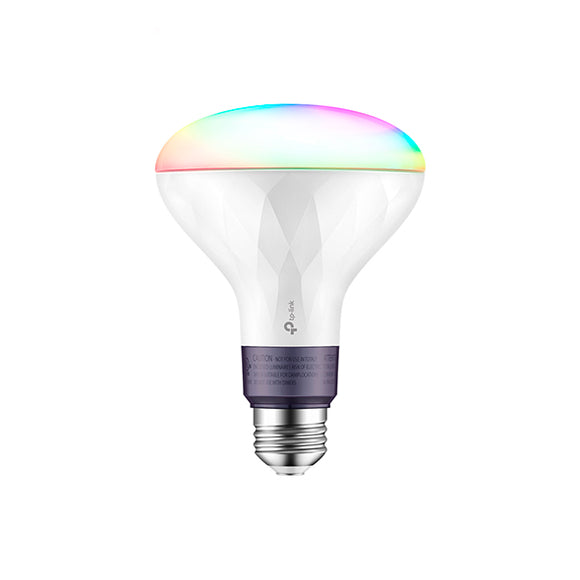 TP-Link Kasa Smart Wi-Fi LED BR30 Light Bulb - Multicolor
