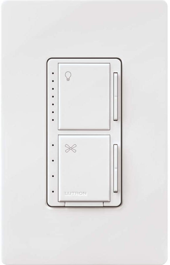 Lutron Fan Control And LED Dimmer + Installation