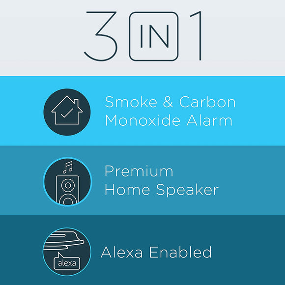 Onelink Smoke Detector and Carbon Monoxide Detector (Alexa enabled)