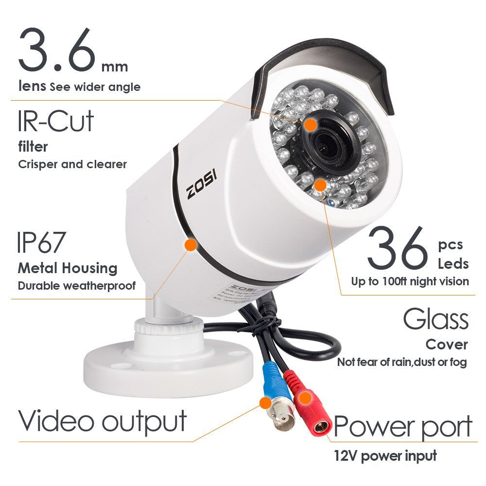 ZOSI Security Camera System + Installation – Nextech Energy Systems