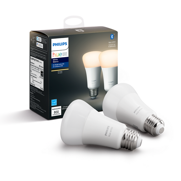 Philips Hue White 2-Pack E26