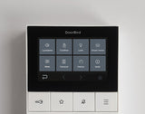 DoorBird Classic Flush Mounted IP Video Door Station - 1 Call Button w/ Dial Pad + Installation