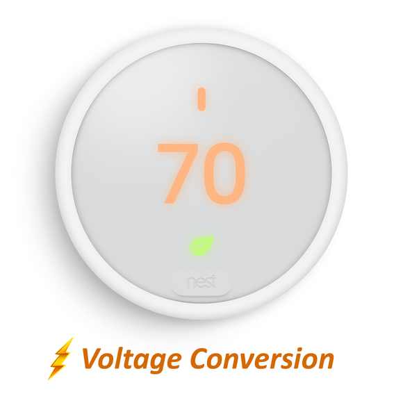 Nest Thermostat E with Professional Installation (single fan speed only)