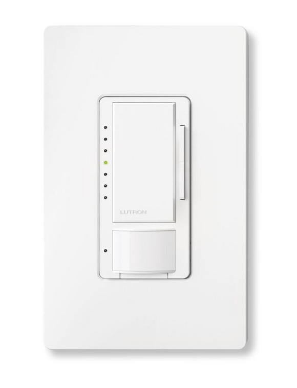 Lutron Motion Sensor Lighting Dimmer Switch + Installation