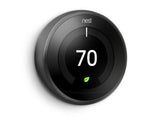 Nest Pro Smart Thermostat w/ Professional Installation + 1 Remote Sensor + Up To 3 Fan Speeds Included (T4)
