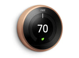 Nest Pro Smart Thermostat w/ Professional Installation + 1 Remote Sensor + 3 Fan Speeds Included (T1W)