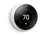 Nest Pro Smart Thermostat w/ Professional Installation + 1 Remote Sensor + 3 Fan Speeds Included (T1)